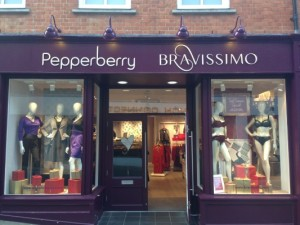 The lovely Guildford branch of Bravissimo